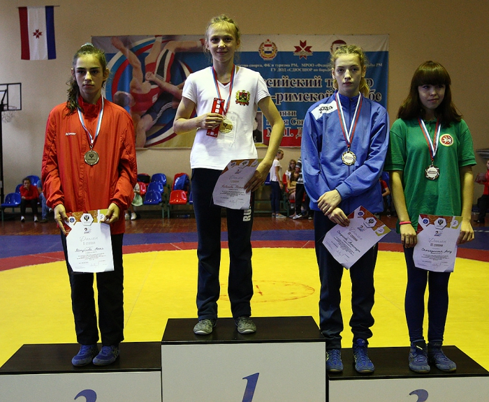 Кабанова Татьяна 1 место 2-ая Всероссийская летняя спартакиада спортивных школ