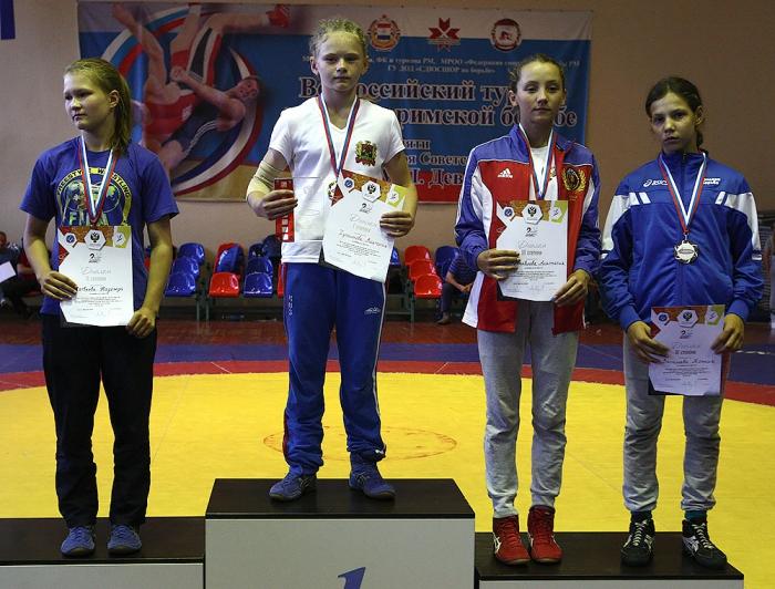 Хусаинова Виктория 1 место 2-ая Всероссийская летняя спартакиада спортивных школ